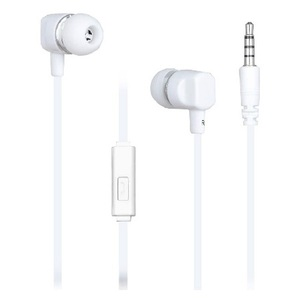 Casti MYRIA MY9019, Cu Fir, In-Ear, Microfon, alb