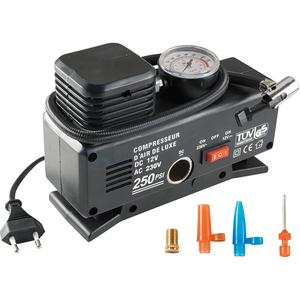 Compresor auto SAL 90786, 18 bar, 10A, 230/12V DC