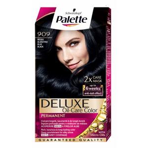 Vopsea de par PALETTE Deluxe, 909 Negru Albastrui, 115ml