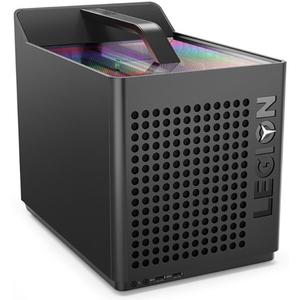 Sistem Desktop Gaming LENOVO Legion C730-19ICO Cube, Intel Core i7-9700K pana la 4.9GHz, 16GB, 1TB + SSD 512GB, NVIDIA GeForce RTX 2060 8GB, Free Dos