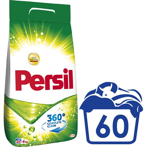 Detergent Pudra PERSIL Regular, 60 spalari, 6kg