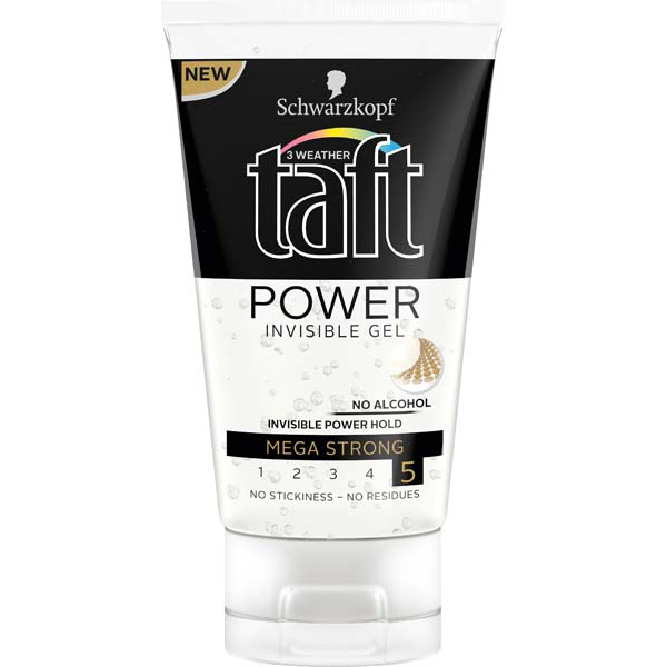 Gel de par TAFT Power Invisible, 150ml
