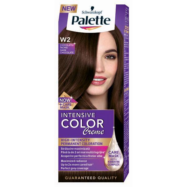 Vopsea De Par Palette Intensive Color Creme W2 Ciocolatiu Inchis 110ml
