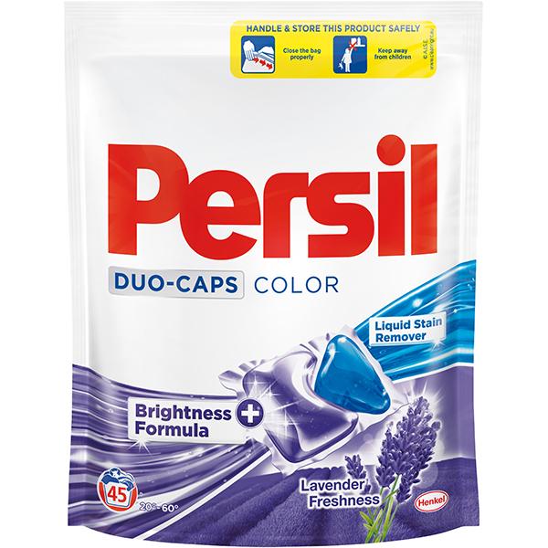 Detergent capsule PERSIL Duo Color Lavender, 45 capsule