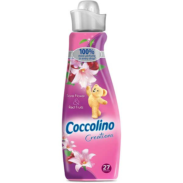Balsam de rufe COCCOLINO Creations Tiare Pink , 950ml, 27 spalari