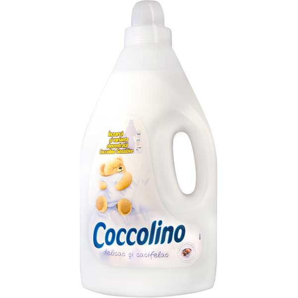 Balsam de rufe COCCOLINO Sensitive, 4l, 44 spalari