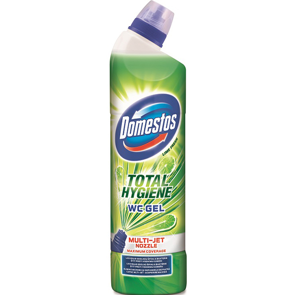 Dezinfectant DOMESTOS Total Hygiene Lime, 700ml