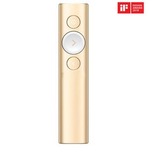 Presenter Wireless LOGITECH Spotlight, auriu