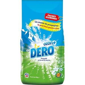 Detergent automat DERO Ozon Roua Muntelui, 8kg, 80 spalari