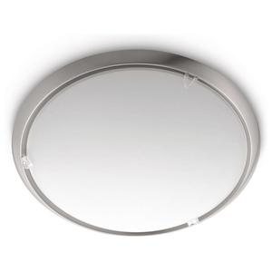 Plafoniera PHILIPS myLiving Canvas 770501716, 60W, argintiu