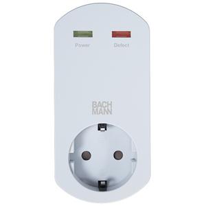 Adaptor Smart cu protectie BACHMANN 919.025, alb