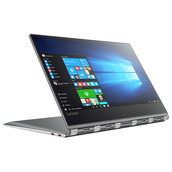 "Laptop 2 in 1 LENOVO Yoga 910-13IK, Intel® Core™ i7-7500U pana la 3.5GHz, 13.9"" Full HD Touch, 8GB, SSD 512GB, Intel® HD Graphics 620, Windows 10 Home"