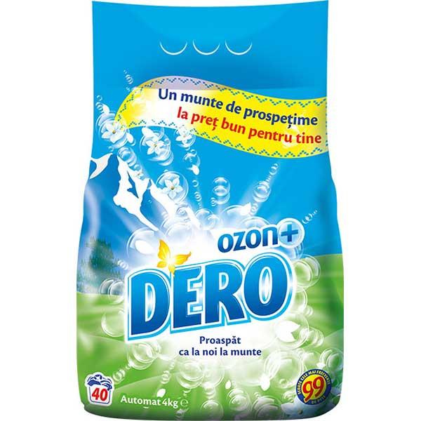 Detergent automat DERO Ozon Roua Muntelui, 4kg, 40 spalari