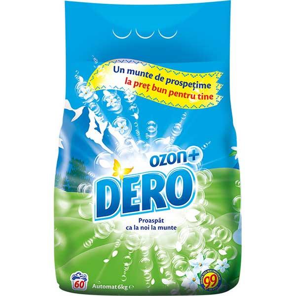 Detergent automat DERO Ozon Roua Muntelui, 6kg, 60 spalari