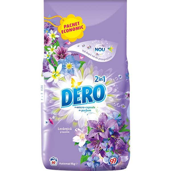 Detergent automat DERO 2 in 1 Levantica, 9kg