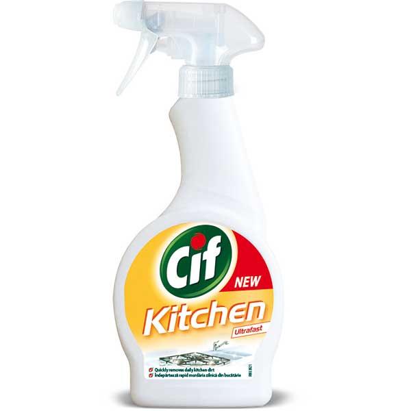 CIF Spray Bucatarie, 500ml