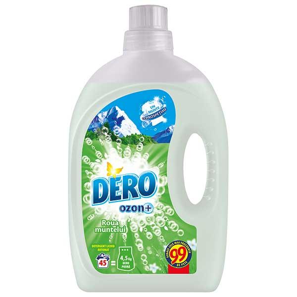 Detergent automat lichid DERO Ozon Roua Muntelui, 2.92l, 45 spalari
