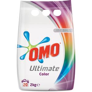 Detergent OMO Ultimate Color, 2Kg, 20 spalari