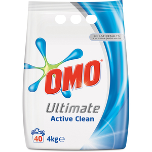 Detergent automat OMO Ultimate Active Clean Duo, 4kg, 40 spalari