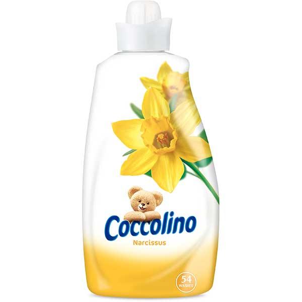 Balsam de rufe COCCOLINO Narcisus, 1.9l, 54 spalari