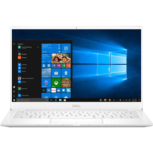 "Laptop DELL XPS 13 9380, Intel Core i7-8565U pana la 4.6GHz, 13.3"" 4K Touch, 16GB, SSD 512GB, Intel UHD Graphics 620, Windows 10 Pro, alb"
