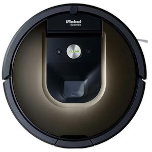 Aspirator robot IROBOT Roomba 980, Navigatie iAdapt, 3 trepte AeroForce, negru-maro