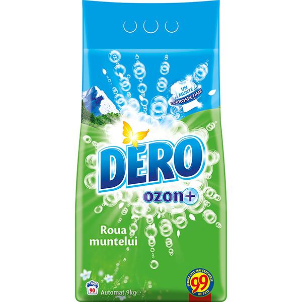 Detergent automat DERO Ozon+ Roua muntelui, 9kg