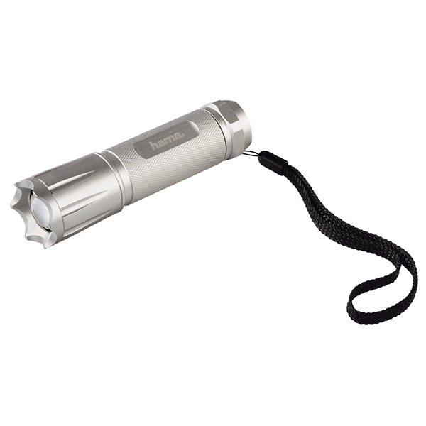 Lanterna cu LED-uri HAMA Allround A-114, 3 LED-uri, argintiu