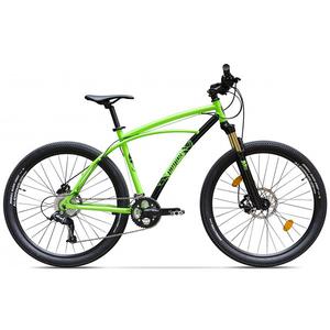 Bicicleta Mountain Bike PEGAS Drumet 24S, Green-Black
