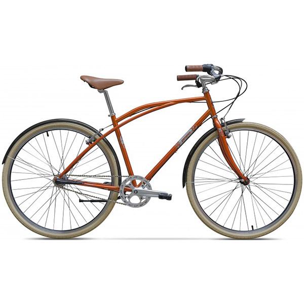 """Bicicleta de oras PEGAS Bizniss 28"""" 33, Orange"""