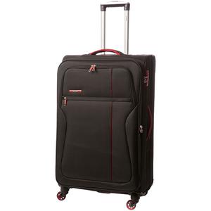 Troler LAMONZA Ultralight A12953, 77cm, negru-rosu