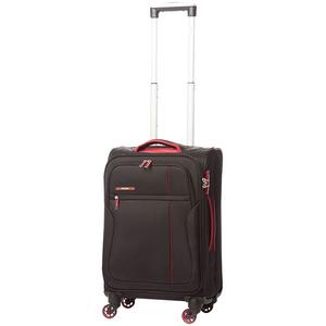 Troler LAMONZA Ultralight A12955, 55cm, negru-rosu