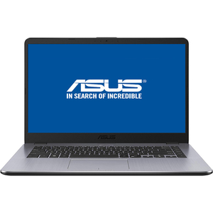 "Laptop ASUS A505ZA-BR156, AMD Ryzen™ 3 2200U pana la 3.4GHz, 15.6"" HD, 4GB, 1TB, AMD Radeon™ Vega 3, Endless, Gri"