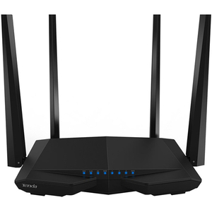 Router Wireless TENDA AC6, Dual-Band 300 + 867 Mbps, negru