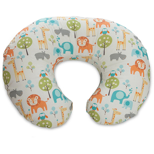 Perna alaptare 4 in 1 CHICCO Boppy Peaceful Jungle, multicolor