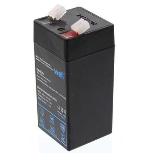 Acumulator plumb acid  WELL BAT-LEAD-4V4AH-WL, 4V, 4 Ah