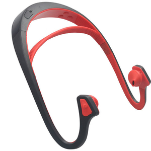 Casti PROMATE Solix-1, Bluetooth, In-Ear, rosu