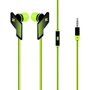 Casti PROMATE Swank, Cu Fir, In-ear, Microfon, verde