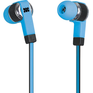 Casti PROMATE Swish, Cu Fir, In-ear, Microfon, albastru