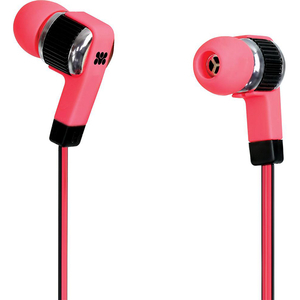Casti PROMATE Swish, Cu Fir, In-ear, Microfon, roz