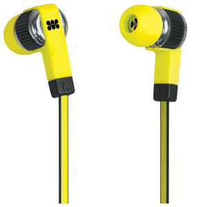 Casti PROMATE Swish, Cu Fir, In-ear, Microfon, galben