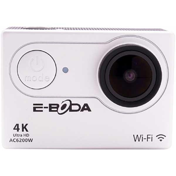 Camera video sport E-BODA AC6200W, 4K, WI-FI, argintiu