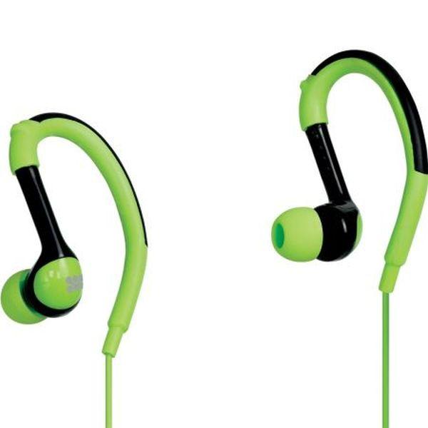 Casti PROMATE Natty, microfon, in ear, cu fir, verde