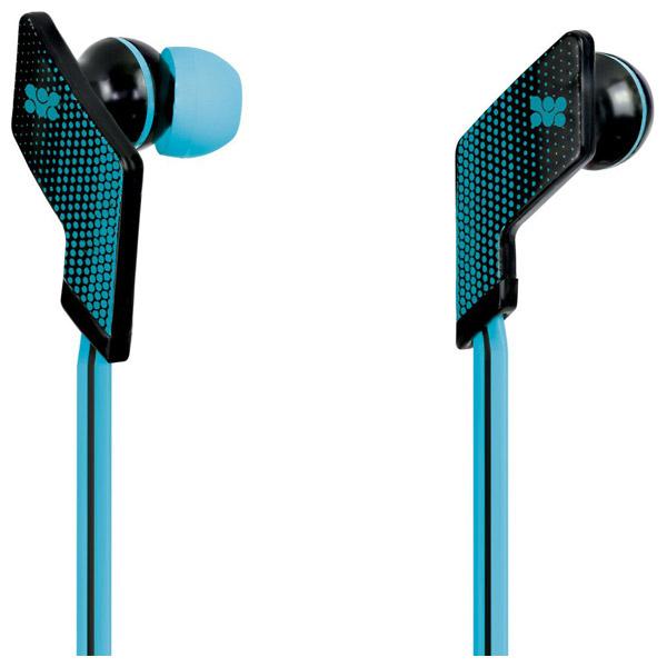Casti PROMATE Swank, microfon, in ear, cu fir, albastru