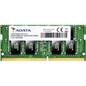 Memorie laptop ADATA 8GB DDR4, 2666MHz ,CL19, AD4S266638G19-S