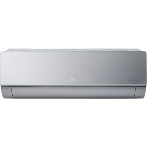 Aer conditionat LG Artcool Mirror AC12SQ, 12000 BTU, A++/A+, Wi-Fi, argintiu