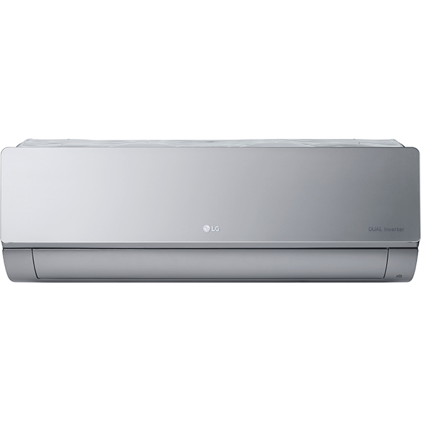 Aer conditionat LG Artcool Mirror AC12SQ, 12000 BTU, A++/A+, Wi-Fi, argintiu