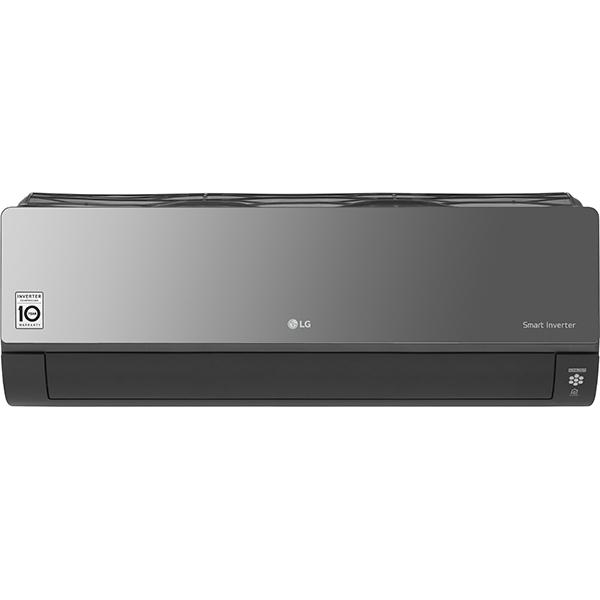 Aer conditionat LG Artcool Mirror AC12BQ, 12000 BTU, A++/A+, Wi-Fi, negru