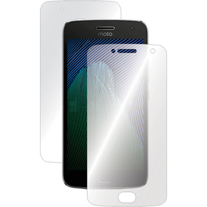 Folie protectie pentru Motorola G5 Plus, SMART PROTECTION, fullbody, polimer, transparent