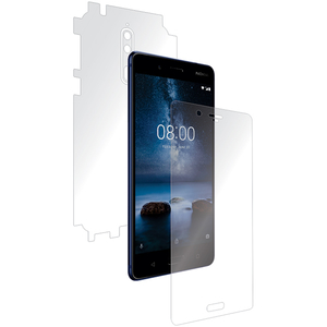 Folie protectie pentru Nokia 8, SMART PROTECTION, fullbody, polimer, transparent